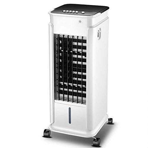 Enfriador de aire 3 en 1 portátil, ventilador y humidificador con temporizador de 24 horas, función de oscilación, 3 ajustes de velocidad del viento, Refrigerador de aire de iones negativos,Mechanical