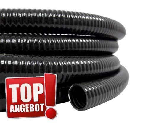 Pondlife 10m Rolle Teichschlauch Spiralschlauch 50mm 2' Pumpe Filter - Made in EU