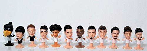 Rewe WM 2018 Deutsche Nationalmannschaft - Satz 12 Figuren Fussball POPZ komplett - Größe ca. 3,5 cm