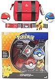 Pokeball con Cinturón Pokemon Flareon Juguete Figura de Acción Modelo Niño Juguetes Cinturón Retráctil Regalos Para Niños Juguetes en Caja