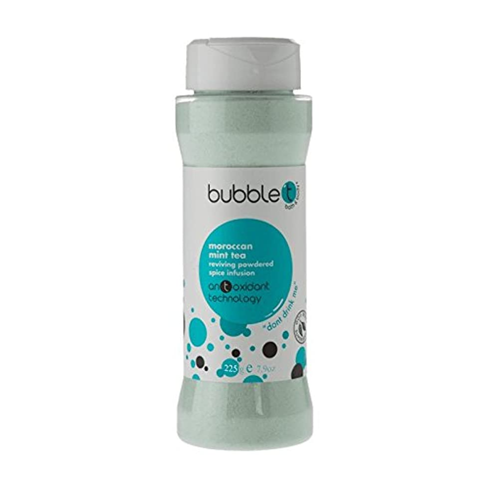 不信汚れたポイントバブルトン風呂スパイス注入モロッコのミントティー225グラム - Bubble T Bath Spice Infusion Morrocan Mint Tea 225g (Bubble T) [並行輸入品]