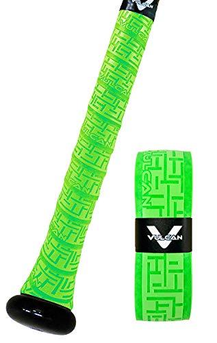 Vulcan Sporting Goods Co. 1.00mm Bat Grip, Optic Green (V100-GRN)
