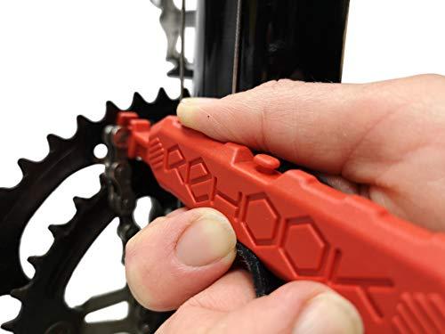 Rehook Colour - Zet je ketting terug op je fiets in 3 seconden. Zonder de puinhoop - Perfect Xmas kous vulmiddel RED