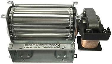 Motor Ventilador Ventilador tangenziale para estufa de pellets 120x 40DX SX IMS–emmevi fergas–Made in Italy