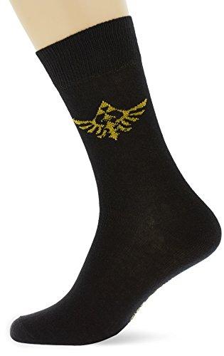 Nintendo - Zelda Crew Socks 39/42 (Zwart)