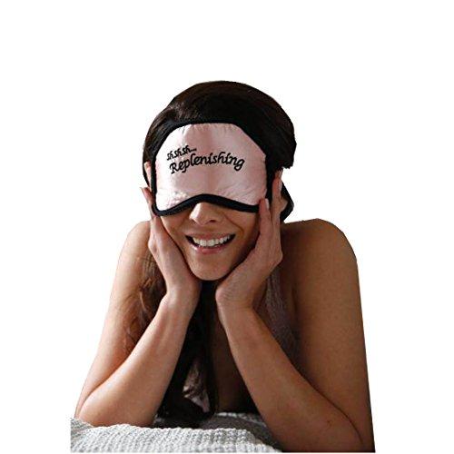 Abbigliamento in rame rame Eye Mask confortevole, flessibile e traspirante e funzionerà notte dopo notte. Una conveniente alternativa ai costosi creme e viso idratanti che contengono rame Peptidi