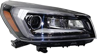 Headlight Assembly Compatible with 2013-2016 GMC Acadia/Acadia Limited 2017 Halogen Projector Type Passenger Side