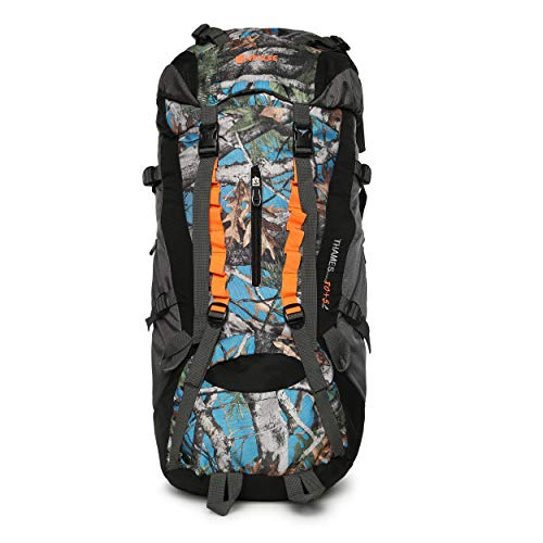 Impulse Waterproof Travelling Trekking Hiking Camping Bag Backpack Series 85 litres Blue Thames P Rucksack