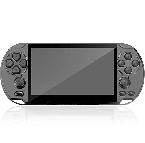 Handheld Game Consoles Double Rocker 8GB 5.1 Inch Screen 1000 Classic Game, Support Video & Music Playing, Built-in 3 Million megapixel Camera,Birthday and New Year's Best Gift for Kids (Black)
