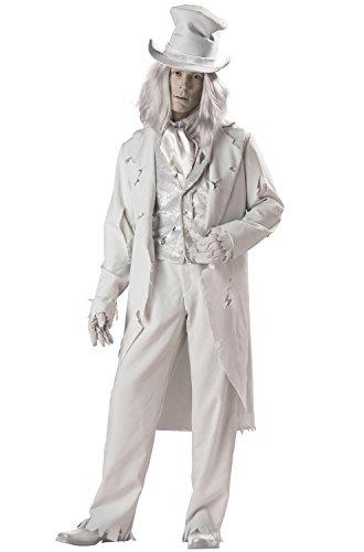 En Costumes de caract-re fantomatique 140009 Gent Elite Collection Adult Costume - Gray - Grand