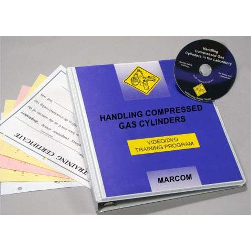 Marcom Group V0001969EL Compressed Over item handling discount Gas Lab in Cylinders DVD The
