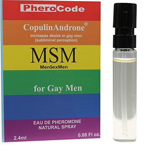 PheroCode MSM Perfume for Gay Men with Pheromones 0.08Fl. Oz