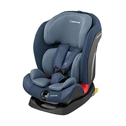Maxi-Cosi 8603243110- Titan niños asiento 9-36kg con Isofix (Grupo 1/2/3), saco de asiento infantil para coche 123con posición de dormir, Nomad Blue, color azul