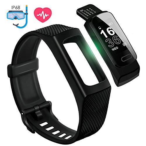 4UMOR Montre Connectée Homme Femme IP68 Etanche Sport Mode Natation GPS Smartwatch Bracelet...