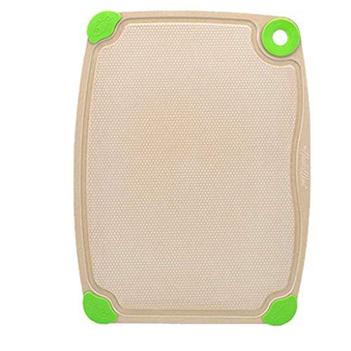 Conveniente tabla de cortar cáscara de arroz, panel de moho, suplemento alimenticio, tabla de clasificación, utensilios de cocina (tamaño: 30 x 39,3 cm)