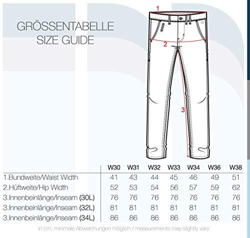 BLEND Tromp - pantaloni chino da uomo , taglia:W32/32;colore:Raven Grey (75112)
