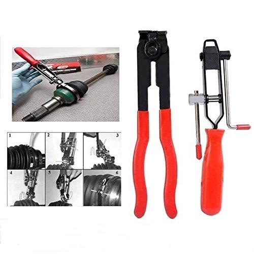 donfhfey827 CV Boot Clamp Pliers Auto Banding Hand Tool Kit Set, voor koelvloeistof Slang, Brandstof Slangklemmen