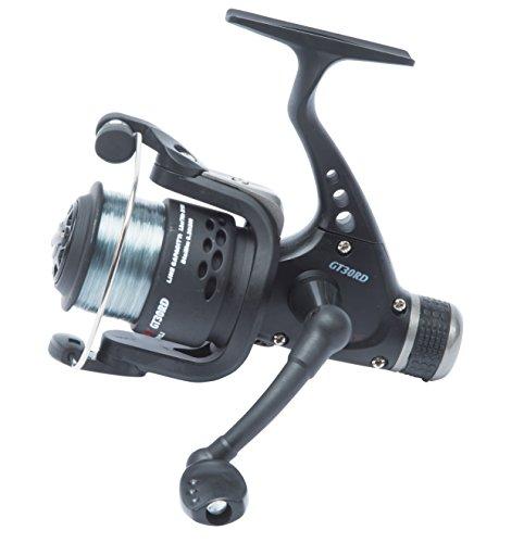 Fishzone GT30R (Rear Drag) Fixed Spool Fishing Reel (Pre Spooled with 8lb...