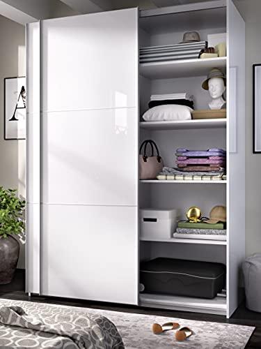 Pack de 3 estantes Blancos para Armario Slide de 180 cm