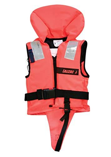 Lalizas 72067 Rettungsweste, Unisex, für Babys, Orange, 3-10 kg