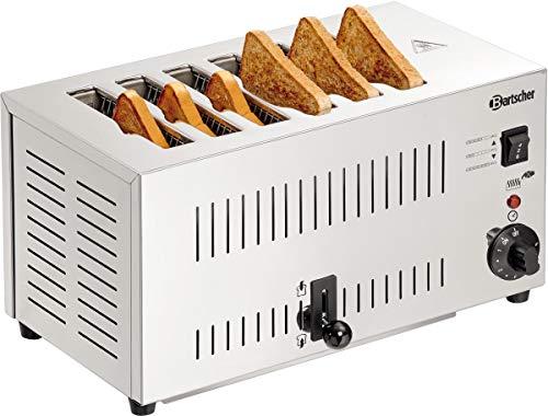 Bartscher Toaster TS60 - 6 Scheiben - 100197