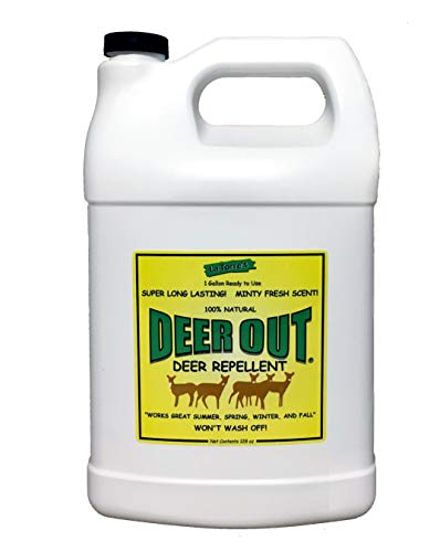 Deer Out 1 Gallon Ready-to-Use - Refill Deer Repellent NO Sprayer Included