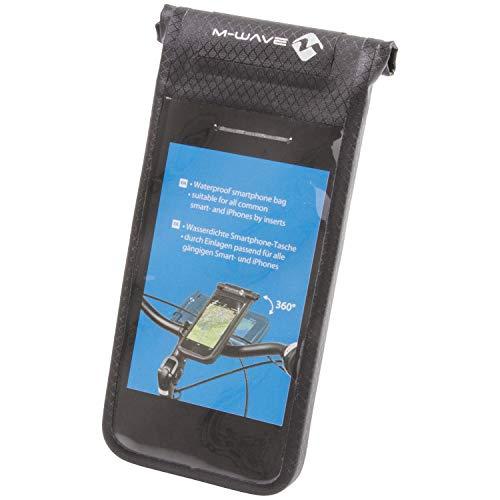 M-Wave Black Bay Smartphone Tasche, schwarz, 17 x 8 x 1 cm