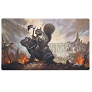 Inked Playmats Toad Rider Playmat PC Gaming Mouse Pad Inked Gaming Perfect for MtG Pokemon Hearthstone & YuGiOh Magic the Gathering TCG Game Mat