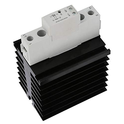 SMT48 DC-besturing SSR AC Din Solid State-relais Aluminium radiatoren Basisrelaismodule - Kwaliteit is onze cultuur(SMT4860S)