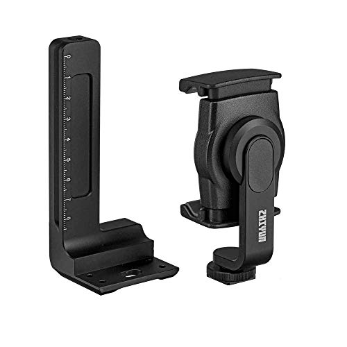 Kit Suporte de Smartphone Zhiyun MPHS1 + Plate Ajuste de Gravidade GAP01 para Gimbal Crane 2
