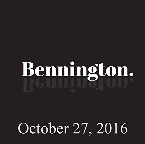 Bennington, Simon Reynolds, October 27, 2016 cover art