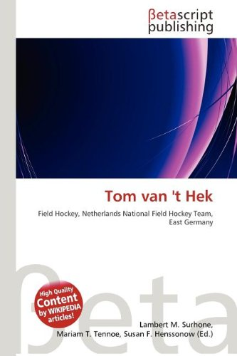 Tom Van 't Hek
