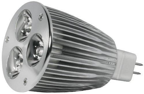 Transmedia LP1-39SQL Power Spot LED 12 V 7,5 W GU5,3 Blanc Chaud