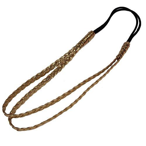 JUSTFOX - Geflochtenes Haarband in Gold
