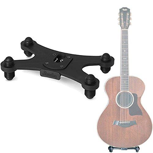 Standley Gitaarstandaard, klik-on gitaarfoot statief voor akoestische gitaren