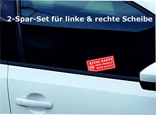 INDIGOS UG - Aufkleber / Autoaufkleber nix
