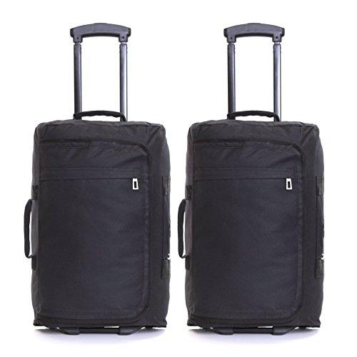 Generic . Olley Bags Trolley Bags e S Cabin Flight Suitcas Set de 2 ruedas - Maletas de equipaje de 2 ruedas de-