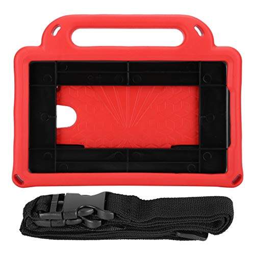 Worii Tablet Protective Cover, Convenient And Safe Tablet Case Cover, Adjustable EVA Cover Engineers, Cashiers For Students, Teachers(Scarlet)