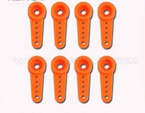 Parts & Accessories F01567 8pcs 450 DFC Gear Protect Servo Arm Horn TL2257-2 for Tarot Trex 450DFC rc Heli Futaba 3156 410M HD2216 MD933