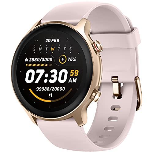Weofly Smartwatch, Reloj Inteligente Hombre Mujer con 14 Modos de Deporte, Pulsómetro, Monitor de Oxígeno de Sangre, Monitor de Sueño, Monitores de Actividad Impermeable 5ATM para Android iOS