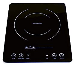 An energy and cost saving induction hob featuring 9 power settings from 300W-2000W. Ideal for low wattage cooking in caravans, camping, boats and motor homes & Low cost cooking at home and work. Greater Control - Adjustable & instant temperature rang...