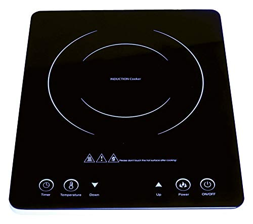 MP Essential Camping, Caravan, Motohome & Home Low Wattage Cooking Glass Hob Hotplate Stove
