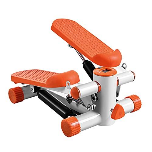 Home Fitness Hydraulische Stepper, Mini-Kreuz-Trainer Maschine Mode Bergsteigene Pedale Bein Übungsgeräte Massage Pedal mit elektronischer Anzeige Kordelzug Schwarz, Schwarz/Commodity-Code: LXJ - 70