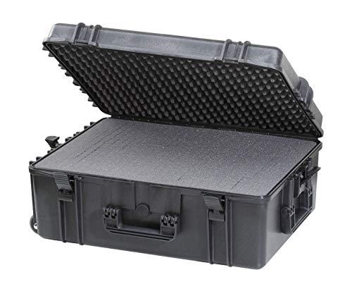 Max MAX620H250STR IP67 resistente al agua nominal de tapas rígidas para fotografía equipo estanca resistente de transporte tirador plástico funda Transit/espuma de poliuretano de/caja de transporte para iMac caja de herramientas
