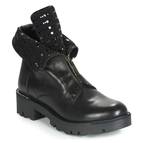 TOSCA BLU DIANE Enkellaarzen/Low boots dames Zwart Laarzen