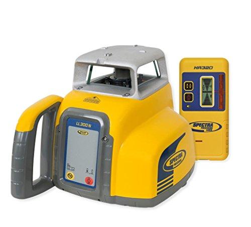 Spectra Precision ll300 N-8eu ll300 N laserwaterpas met HR320 - geel