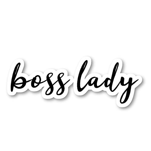 Boss Lady Sticker Inspirational Quotes Stickers - Laptop Stickers - 2.5' Vinyl Decal - Laptop, Phone, Tablet Vinyl Decal Sticker S54847