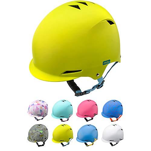Casco Bicicleta Bebe Helmet Bici Ciclismo para Niño - Cascos para Infantil Bici Helmet para Patinete Ciclismo Montaña BMX Carretera Skate Patines monopatines (S 48-52 cm, Yellow)