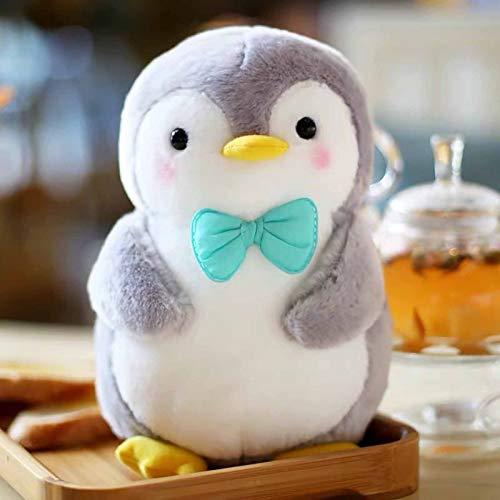 New Cute Warm Penguin Plush Doll Super Soft Filled Anime Bread Plushies Kawaii Office Pillows Stuffed Plush Toy Accompany Baby Sleep Plushie Backrest Pillow Appease Ragdoll Xmas NewYear (9.8inch, F)