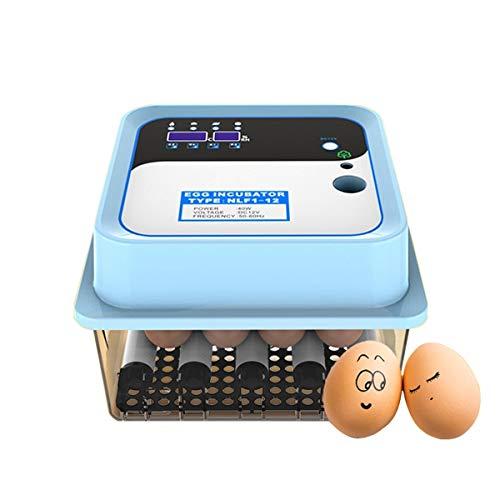 Volautomatische broodmachine Mini Clever Hatcher 6/12 kuiken brood voor auto stempels kip gans eend gevogelte incubator 12 Egg